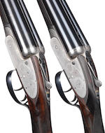 A pair of 12-bore self-opening sidelock ejector guns by J. Purdey & Sons, no. 17742/3