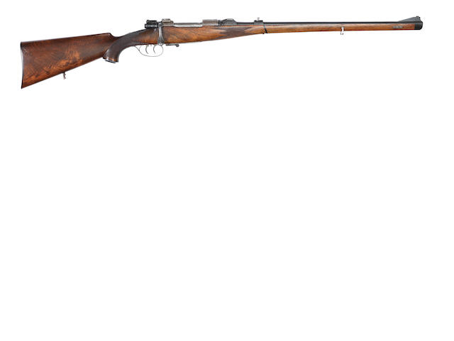 A 7x57mm Mauser sporting rifle by R. Mahrholdt & Sohn, no. 1477.39