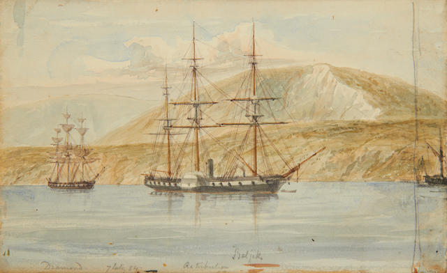 Crimean War. An interesting collection of watercolours and manuscripts, Capt. George Goldsmith (1806-1875) 18