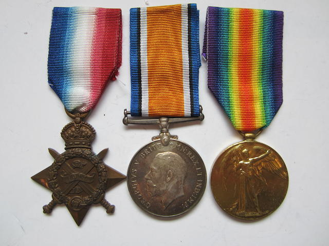 Three to Captain D.Renton, Royal Army Medical Corps, late British Red Cross Society,