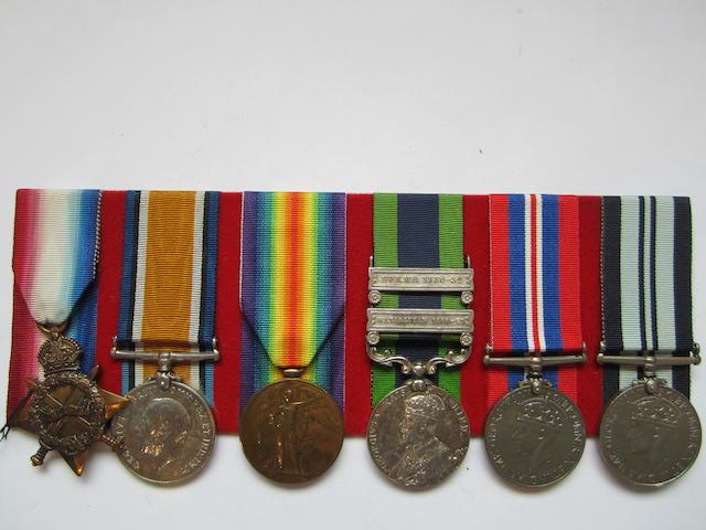 Six to Major V.N.Agate Indian Medical Service,