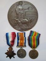 Three to Lieutenant G.Robson, Seaforth Highlanders,