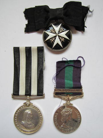 An Order of St John group of three to Miss F.Storey, St.John's Ambulance Brigade,