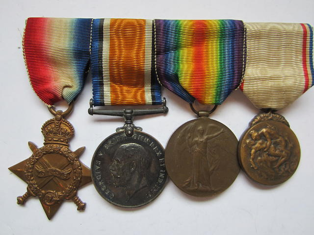 Four to Captain L.T.Challenor, Royal Army Medical Corps,