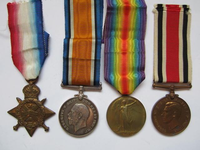 Four to G A Douglas, Special Constabulary, late British Red Cross and Order of St.John of Jerusalem,