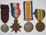 A Medal of the Order of the British Empire group of four to Sergeant R.H.Purser, Royal Army Medical Corps,