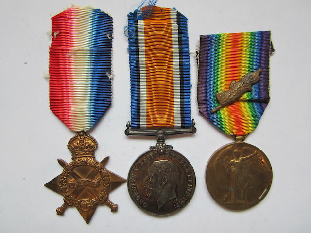 Three to Captain W.J.McKeand, Royal Air Force, late Royal Army Medical Corps,