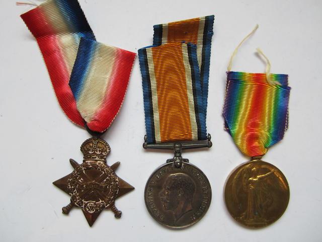 Three to Surgeon J.S.D. MacCormac, Royal Navy,