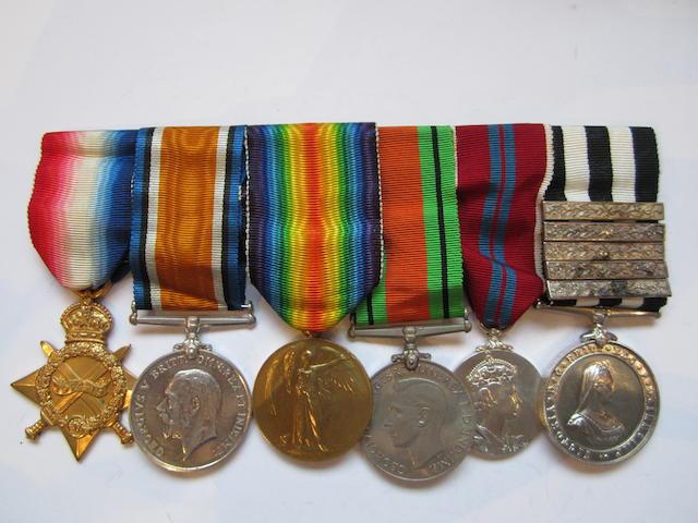 Six to Surgeon Lieutenant Commander N.Rollason, St.John Ambulance Brigade, late Royal Naval Volunteer Reserve,