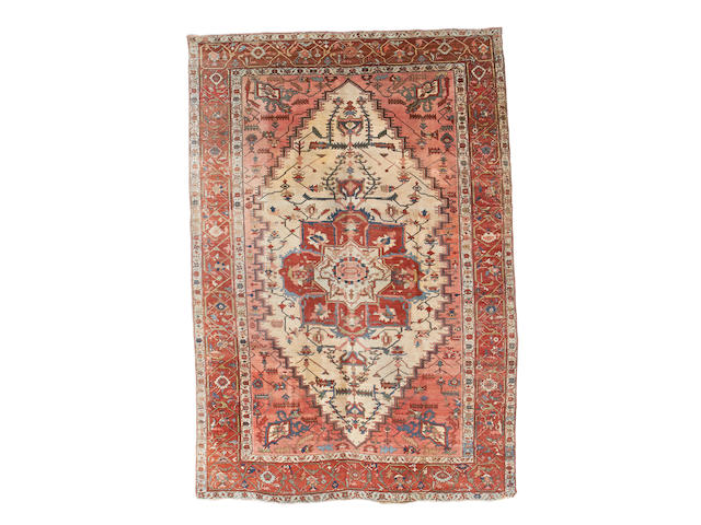 A Heriz carpet, North West Persia, 515cm x 357cm