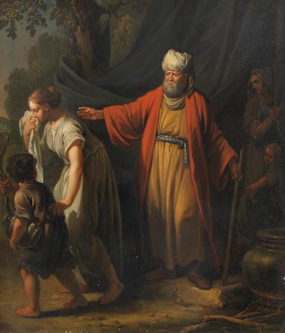 Jacobus Buys (Amsterdam 1724-1801) The Banishment of Hagar
