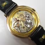 Rolex. A 9ct gold manual wind centre seconds wristwatchPrecision, Case No.25540, London Hallmark for 1965