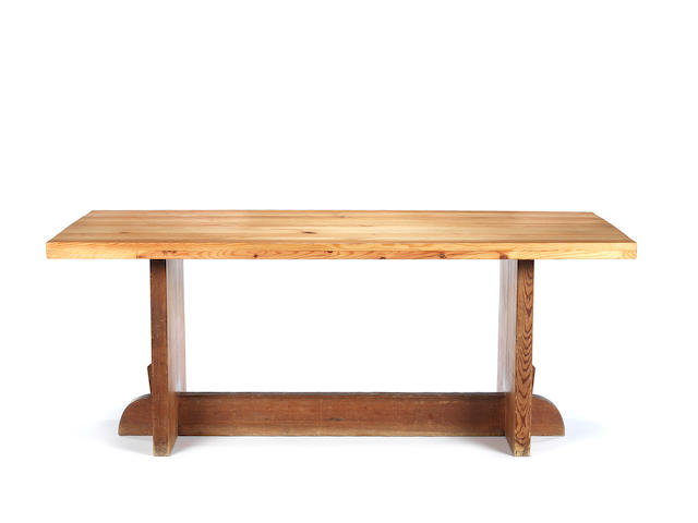 Axel Einar Hjorth for Nordiska Kompaniet Lovö Dining Table circa 1930  pine  72.5 by 180 by 74.5 cm. 28 9/16 by 70 7/8 by 29 5/16 in.