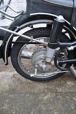 Property of Yori Kanda,1968 BMW 245cc R27 Frame no. 386315 Engine no. 386315