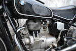 Property of Yori Kanda,1968 BMW 245cc R27 Frame no. 386315 Engine no. 386315