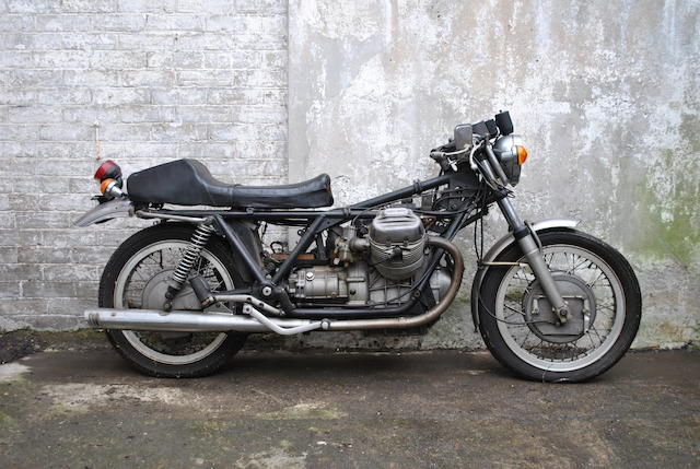 Property of Yori Kanda,1972 Moto Guzzi 749cc V7 Sport Project  Frame no. VK11427 Engine no. VK30343