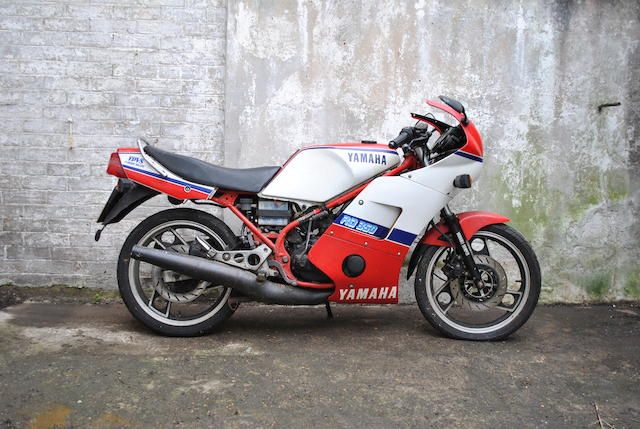 Property of Yori Kanda,c.1985 Yamaha RD350F 'YPVS' Frame no. 31K 053516 Engine no. 31K 053516