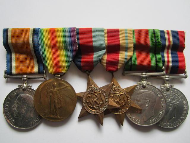 Six to Private M.Kissaun, St.John Ambulance Brigade Malta,