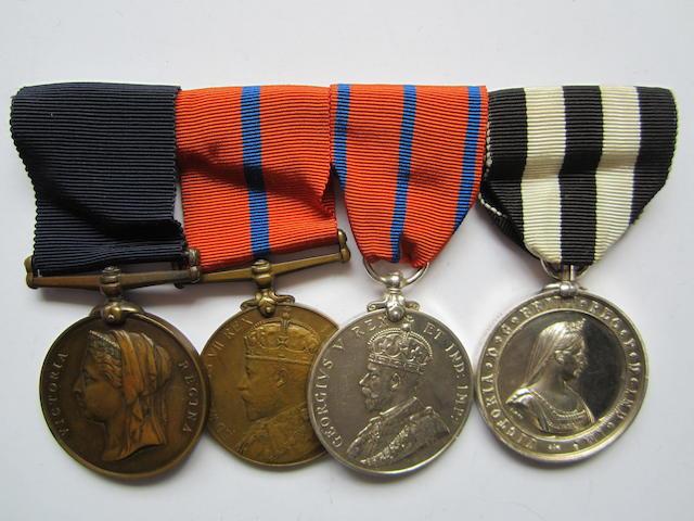 Four to Nursing Sister M.A.Lumsden, St.John Ambulance Brigade,