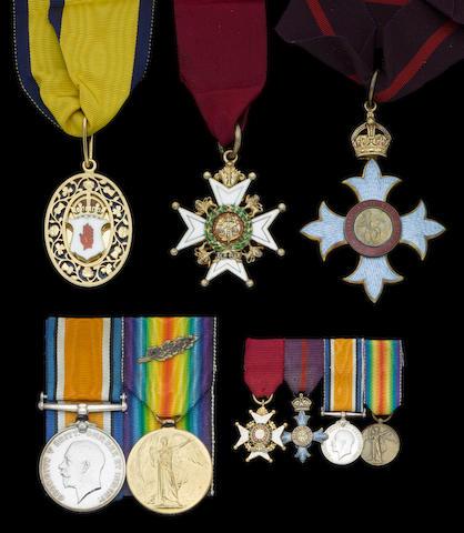 A Great War C.B. and C.B.E group of five to Colonel Sir H.G.Barling, Royal Army Medical Corps,