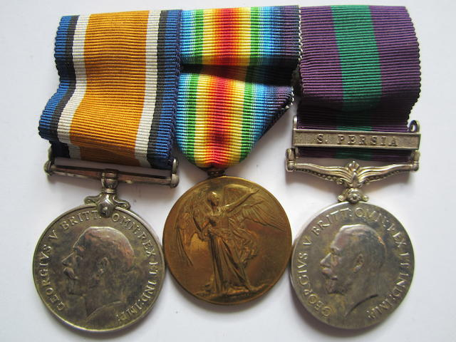 Three to Captain N.Briggs, Indian Medical Service, late Royal Army Medical Corps,