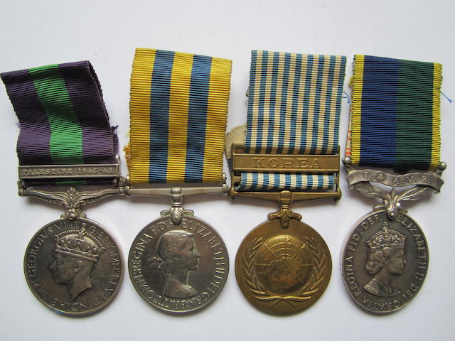 Four to Sergeant L.McGorie, Royal Army Medical Corps,