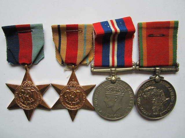 Four to S.L.Pienaar, South African Medical Corps,
