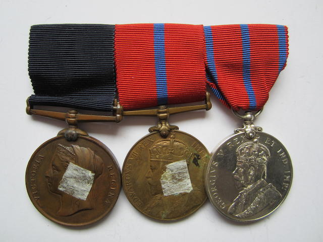 Three to Honorary Surgeon J.Bremner, St.John's Ambulance Brigade,
