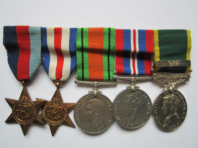 Five to Private D.C.Sigston, Royal Army Medical Corps,