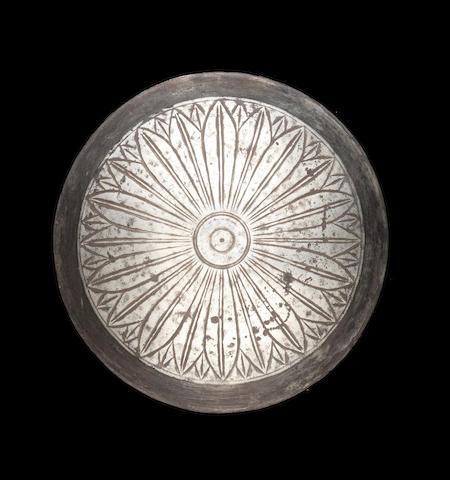 A Greek silver phiale