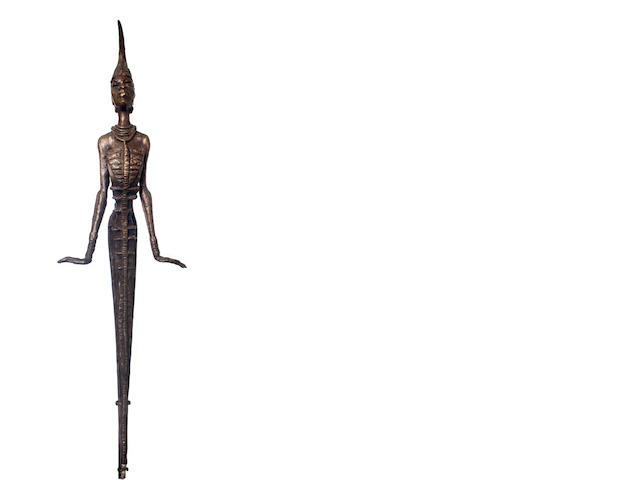 Ben (Benedict Chukwukadibia) Enwonwu, M.B.E (Nigerian, 1917-1994) 'Anyanwu' 91cm (35 13/16in) high (excluding base)