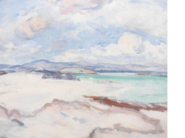 Samuel John Peploe, RSA (British, 1871-1935) A Summer Afternoon, Iona 51.4 x 61 cm. (20 1/3 x 24 in.)