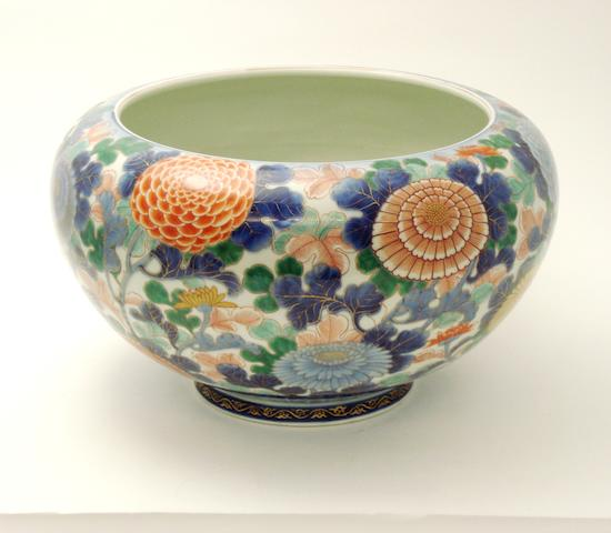 A Fukagawa jardinière Early 20th century