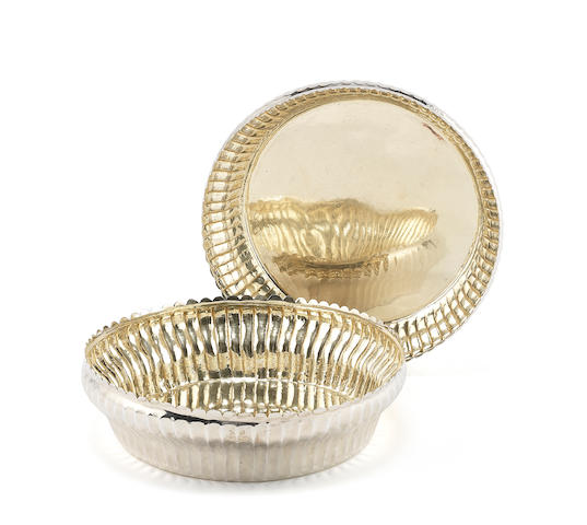 *To be sent to APC meeting on 11 December* A pair of George IV silver serving dishes possibly by Joseph Cooper, London, 1825