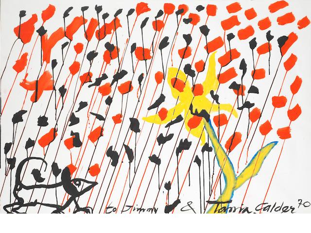 Alexander Calder (1898-1976) Untitled<BR />