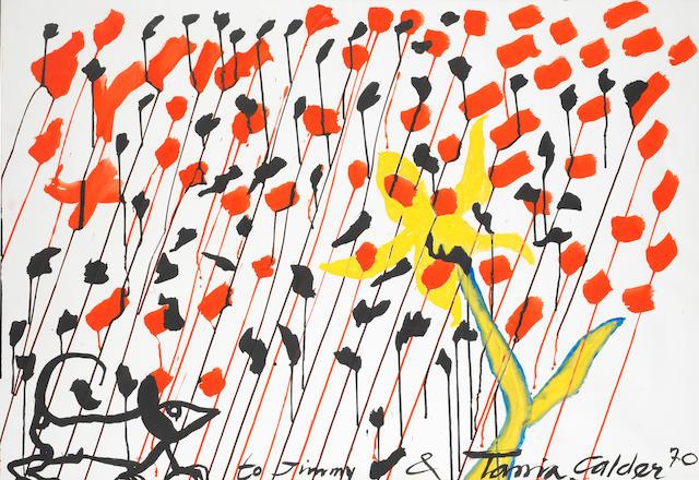 Alexander Calder (1898-1976) Untitled