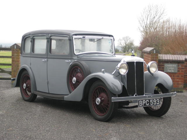 1934 Daimler 15hp Saloon, Chassis no. to be advised Engine no. to be advised