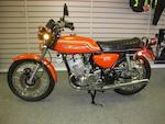 1971 Kawasaki 498cc H1B Frame no. KAF 52675 Engine no. KAE 56974