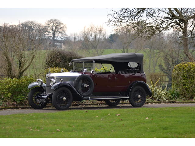 1929 Crossley 20.9 Tourer