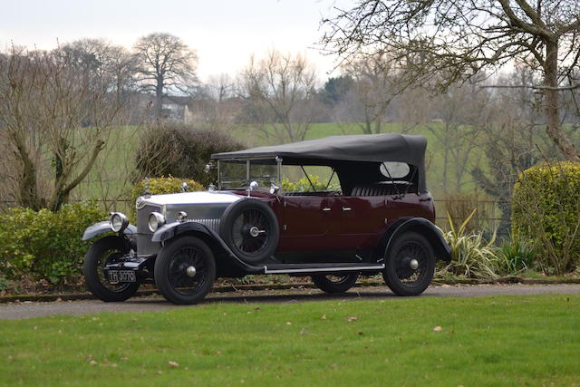 Property of a deceased's estate,1929 Crossley 20.9hp Tourer  Chassis no. 41229 Engine no. 41229