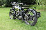 1929 Montgomery-JAP 1,000cc V-Twin Frame no. C564 Engine no. KTCY W98950