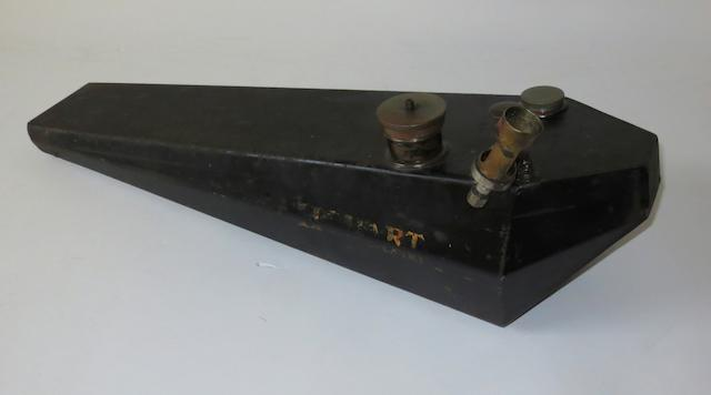 A Hobart Coventry petrol tank,