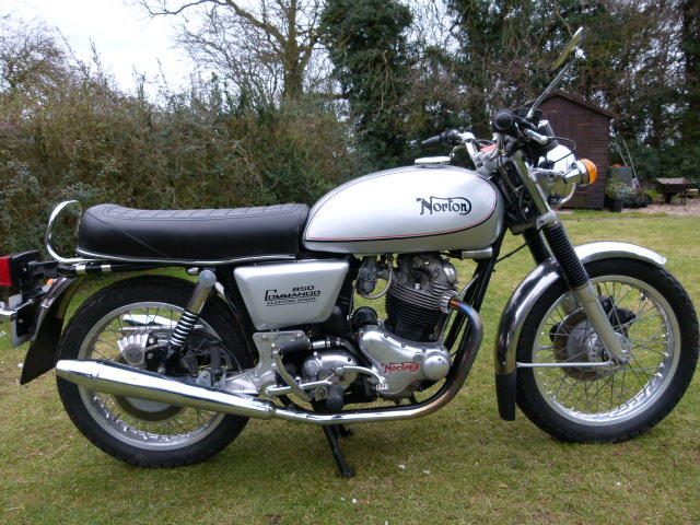 1975 Norton Commando 850cc Interstate Mk III Frame no. 330584 Engine no. 330584