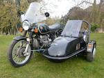 1978 BMW 980cc R100S & Squire Sidecar Frame no. 6065200 Engine no. 6065200