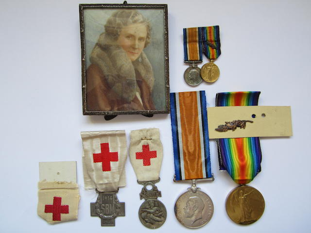 Pair to M.E.Yeaman, Voluntary Aid Detachment,