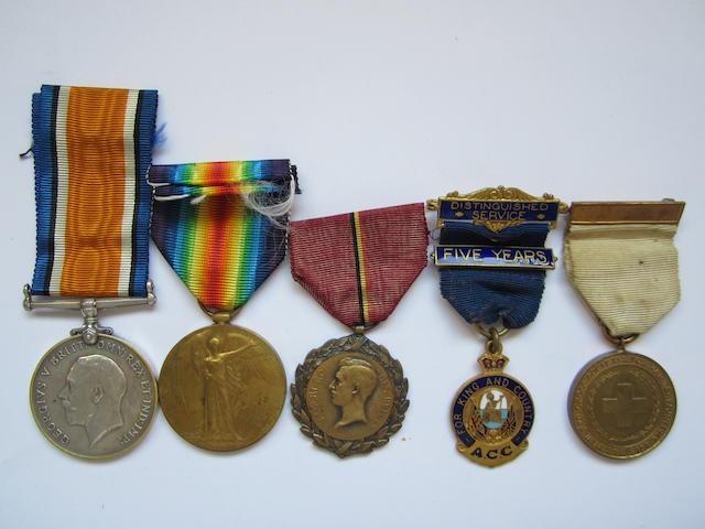Three to Lieutenant R.H.C.O.Wisdom, Royal Army Medical Corps,