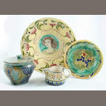 A Collection of Della Robbia items  Circa 1895-1905