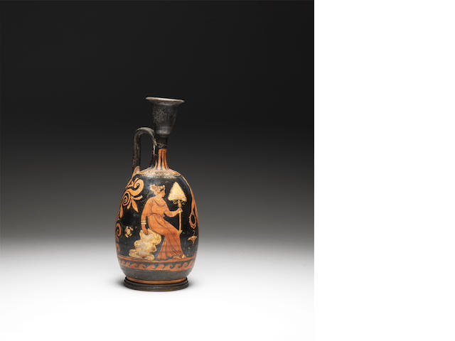 An Apulian red-figure lekythos