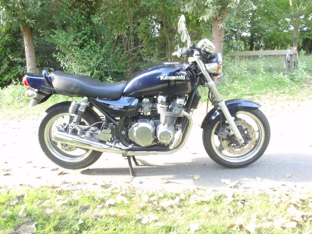 1992 Kawasaki 750cc Zephyr Frame no. ZR750C020259 Engine no. KZ750EE157864