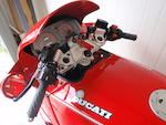 1990 Ducati 748cc Paso Frame no. ZDM750P 750592 Engine no. P750.708